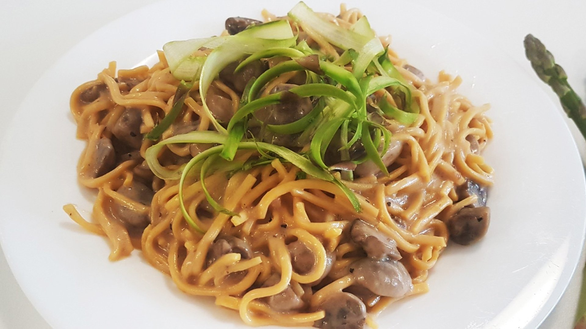 Mushroom Pasta with Yeungs Black Pepper Sauce Mix