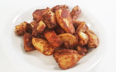 Potato Wedges with Chinese Gravy Mix